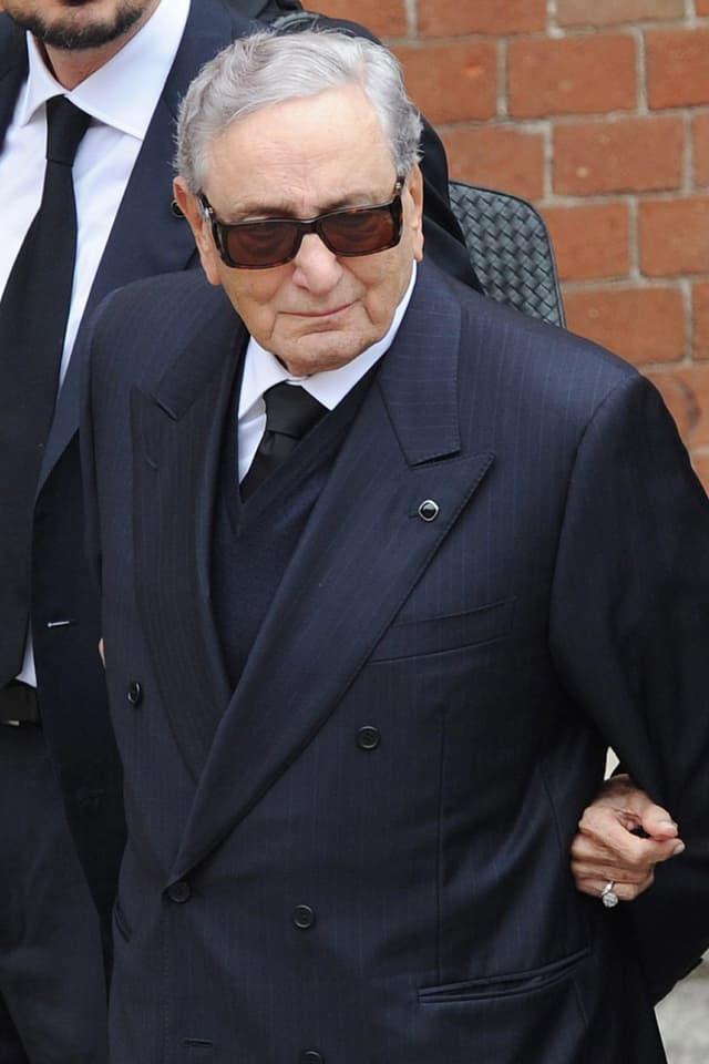 Michele Ferrero auf einem Bild aus dem Jahr 2011