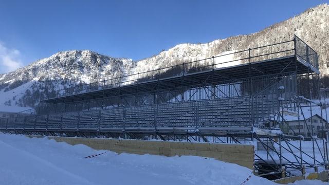 Tribuna Tour de ski Val Müstair