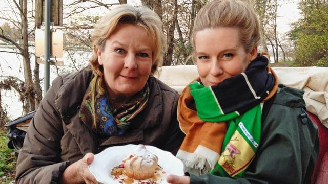 Video «Myriam bei Lisl Wagner-Bacher, die Grande Dame der Mehlspeisen» abspielen