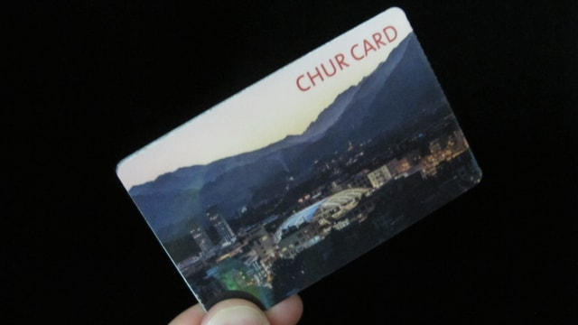 Chur Card im Bild