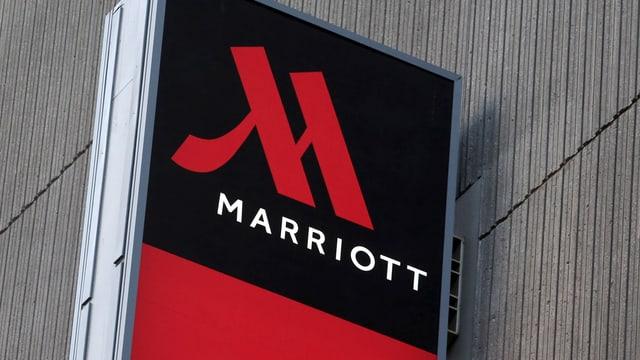 Purtret dal logo da Marriott.