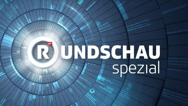 Sendungslogo «Rundschau spezial»