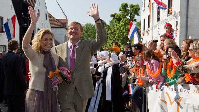 Prinz Willem-Alexander und Màxima