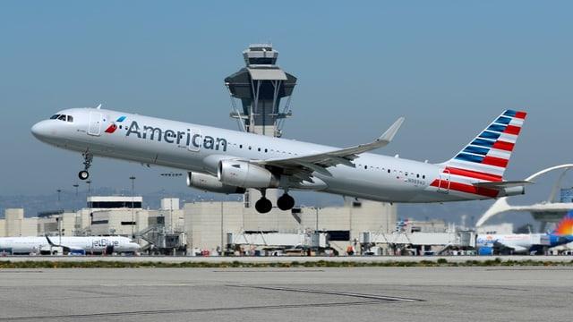 Flieger der American Airlines