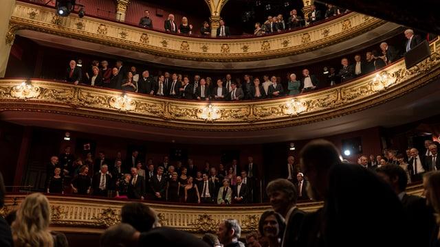 Theatersaal.