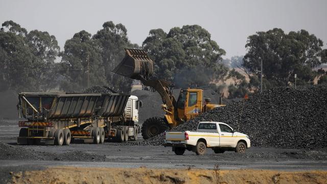 Eine Glencore-Mine in Südafrika.