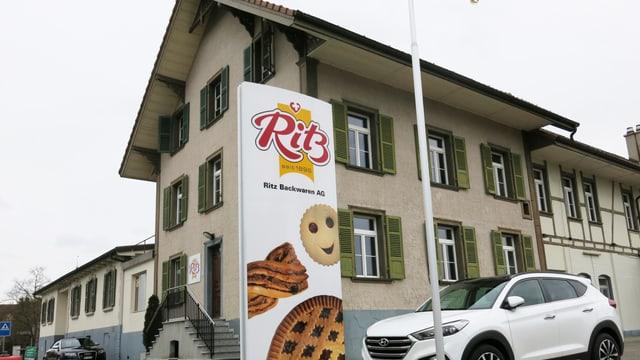 Das Hauptgebäude der Ritz.