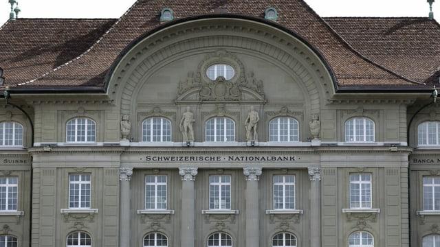 Banca naziunala a Berna.