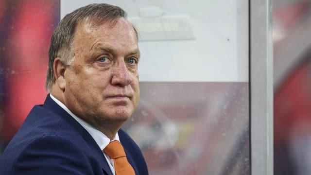 Dick Advocaat als Nationalmannschaftscoach der Niederländer.