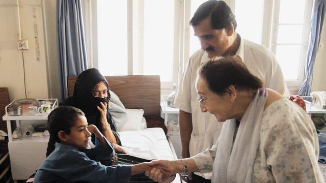 Von Paderborn nach Pakistan - Eine 87jährige Ärztin unterwegs
