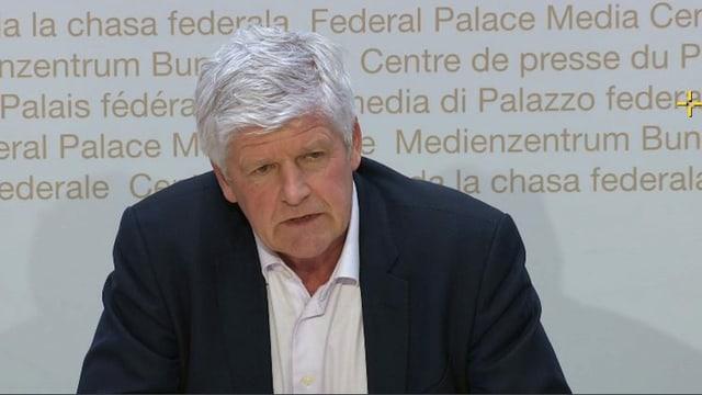 Hans-Peter Lenz, Chef Krisenmanagementszentrum EDA