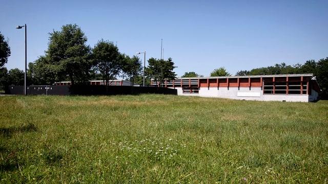 Das neu eröffnete Asylzentrum in Bremgarten
