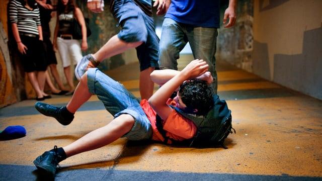 Jugendliche im Konflikt