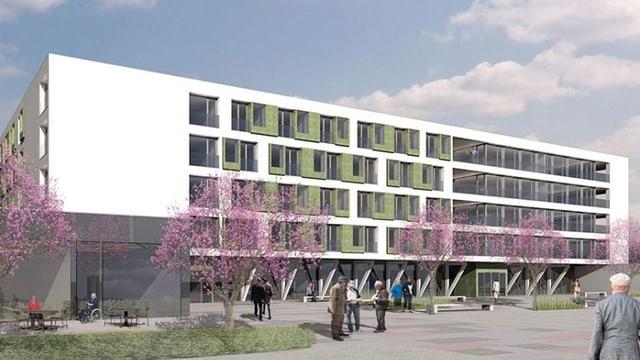 Das Betagtenzentrum Emmenfeld ist das aktuell grösste Projekt seiner Art in der Zentralschweiz.