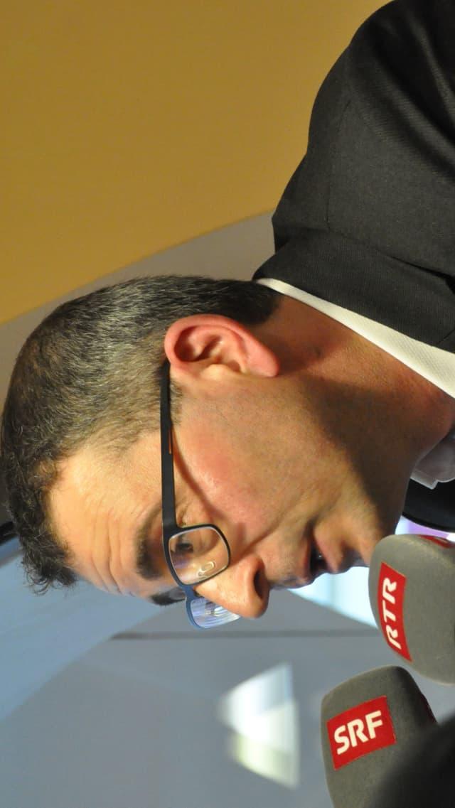 il cristiandemocrat Peter Portmann che vul ir en il cussegl da la citad da Cuira
