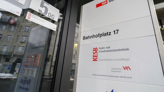 Mit Beschwerde abgeblitzt: Der Sitz der Kesb Winterthur-Andelfingen in Winterthur.