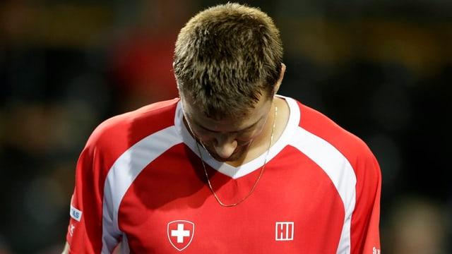 Marco Chiudinelli gewann letztmals im Oktober 2012 eine Partie im Hauptfeld eines ATP-Turniers.