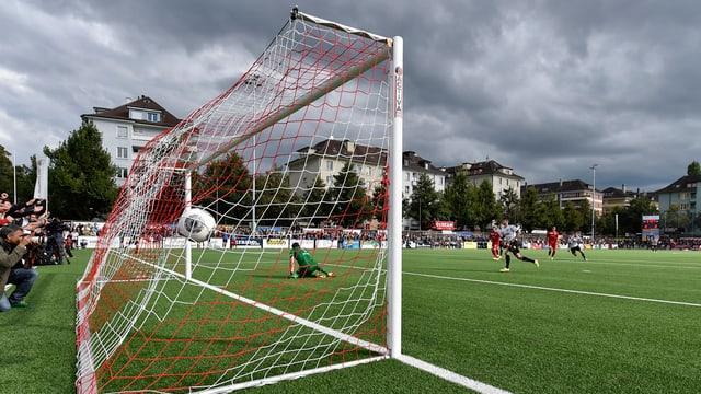 Goal, Fussball, Fussballplatz