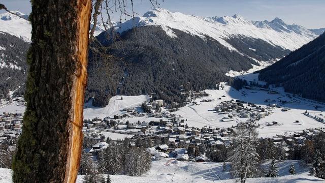 Davos von oben