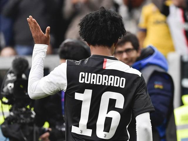 Juan Cuadrado und sein Juventus haben am Mittwoch doch spielfrei.