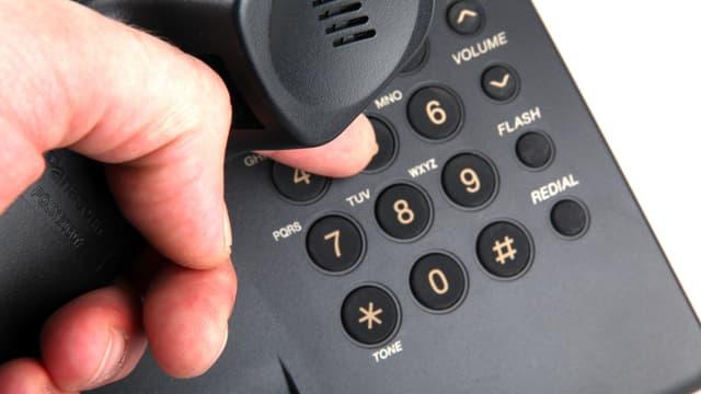 Telefon digital.