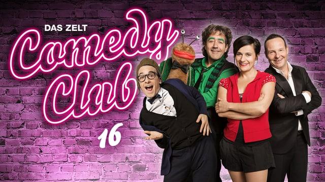 Video ««Das Zelt – Comedy Club 2015» (Whg)» abspielen