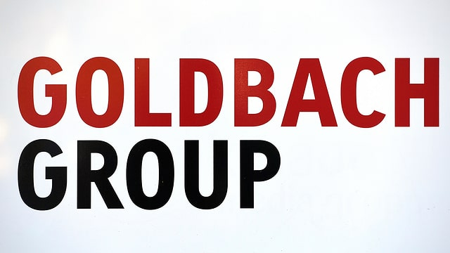 Logo Goldbach Group.