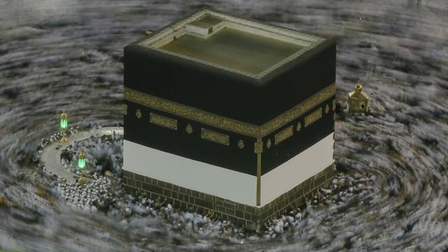 Zu sehen das Pilgerzentrum in Mekka.