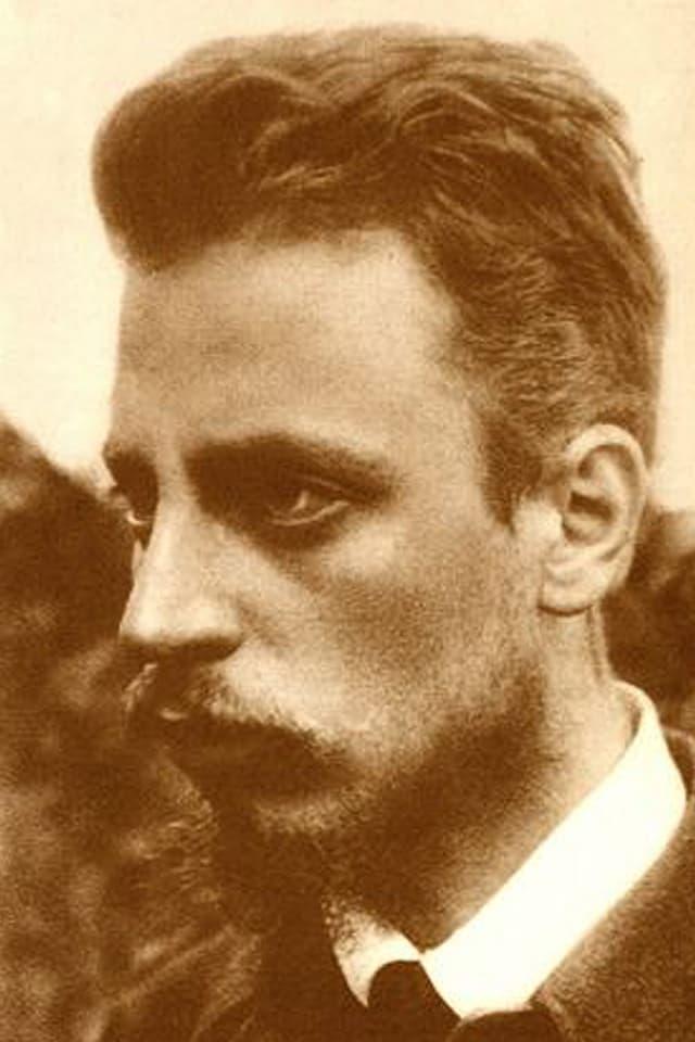 Porträtfoto des Lyrikers und Schriftstellers Rainer Maria Rilke.