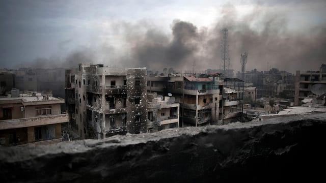 Ruinas che fiman - Aleppo ozilgi.