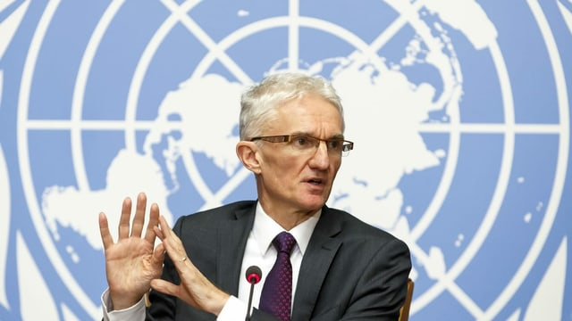 UNO-Diplomat Mark Lowcock.
