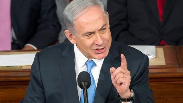 Il primminister israelian, Benjamin Netanjahu.