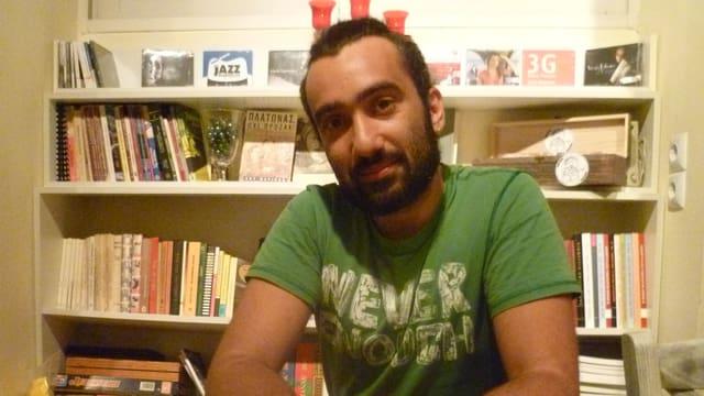 Vaggelis Tantis, 32 Jahre, Spanischlehrer.
