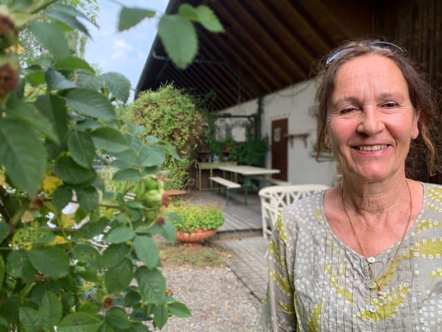 Isabella Baumgartner stellt ihr Pro Natura Aargau zur Verfügung.