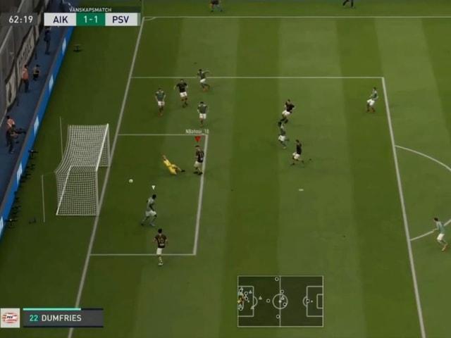 Die Profi-Fussballer duellieren sich in Fifa 20.