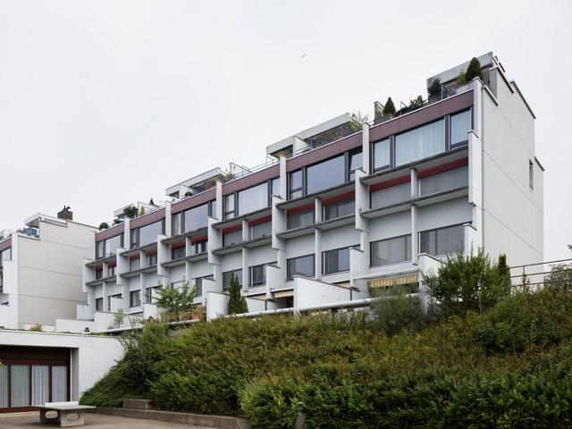 Ein Wohnhaus in Sempach.