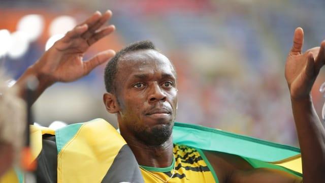 Usain Bolt war mit drei Goldmedaillen einmal mehr der grosse Star.