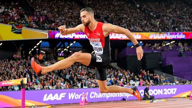 L'atlet svizzer Kariem Hussein