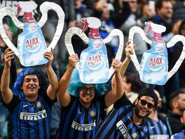 Fans von Inter Mailand.