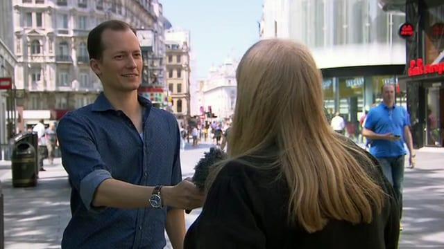 Michael Weinmann interviewt