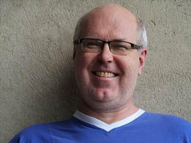 Porträt von Wolfgang Bortlik.