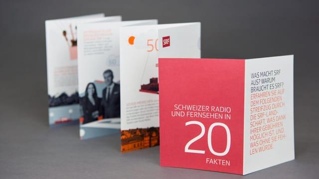 Faltblatt «SRF in 20 Fakten»