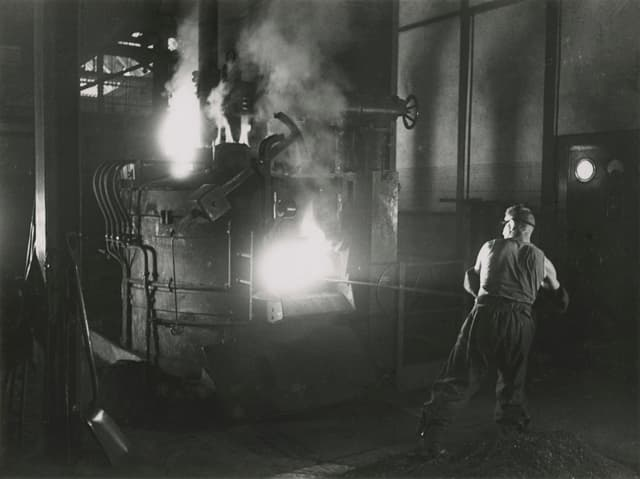 Elektroofen, Honegger Rüti, 1942