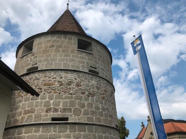 Der Pulverturm in Zug.