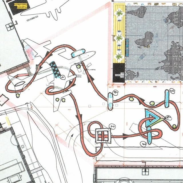 in plan da cursa da dronas.