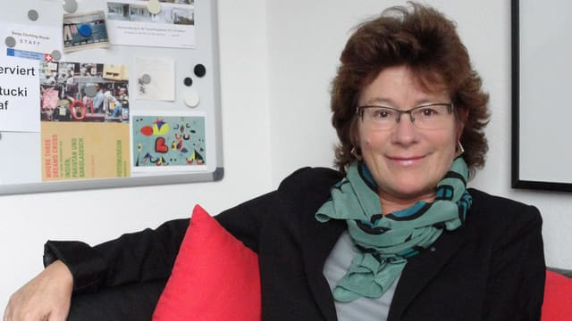 Porträtbild Sonja Zöchling Stucki