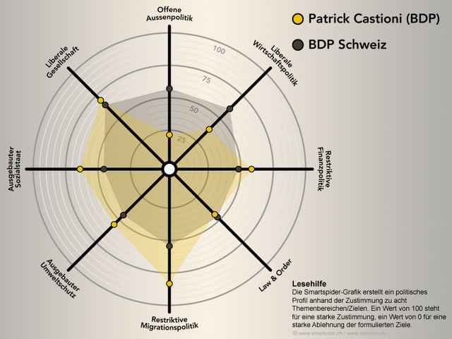Die Smartspider von Patrick Castioni.
