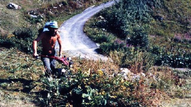 Markus Senn trotzt der Vergandung der Alp