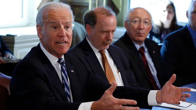 Will schon nächste Woche erste Vorschläge machen: US-Vizepräsident Joe Biden.