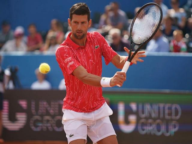 Novak Djokovic muss seit der Adria Tour viel Kritik einstecken.